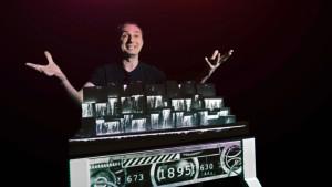 Marco Tempest präsentiert die Tesla Story